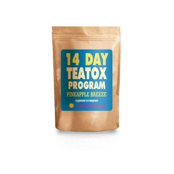 Программа Teatox 14 DAY PINEAPPLE BREEZE